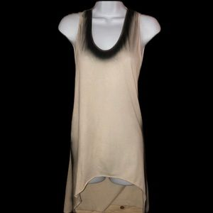 IMPROVD 02 T-Shirt (Saks) Tank W/Raw Edge